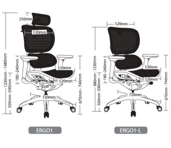 ERGO1 EXECUTIVE SEATING 1