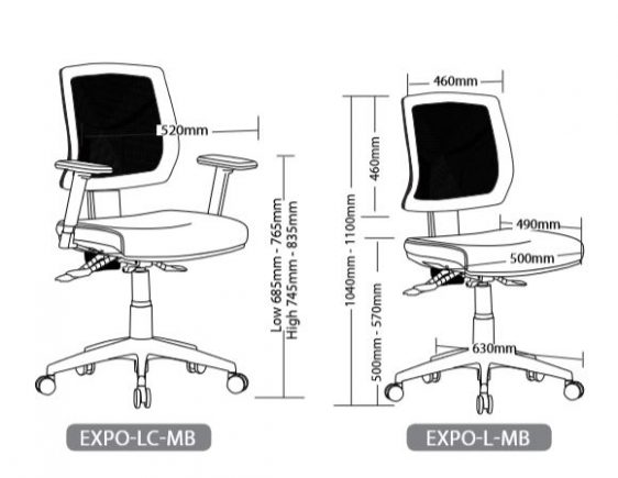 EXPO SEATING RANGE