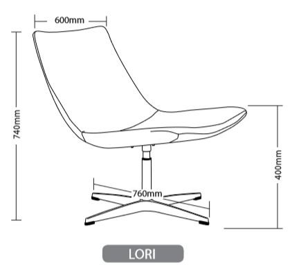 LORI HOSPITALITY SEATING