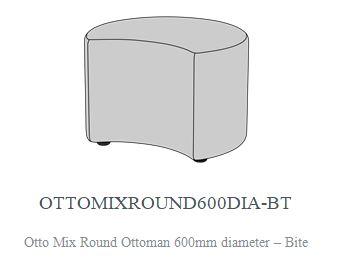 OTTO MIX ROUND CLUSTER OTTOMAN 1