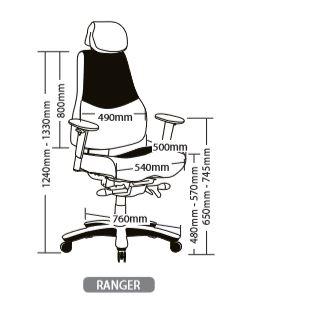 RANGER SEATING RANGE3