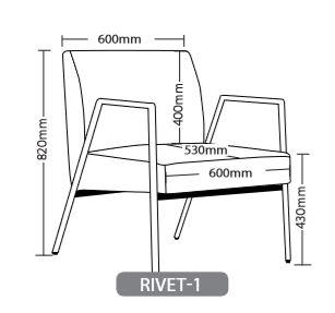 RIVET SOFT SEATING RANGE 5