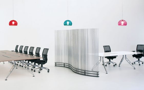TRAPEZE BOARDROOM TABLE -2