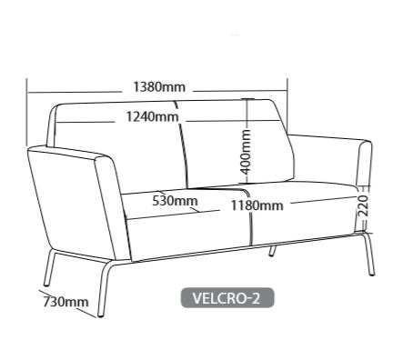 VELCRO SOFT SEATING RANGE 7