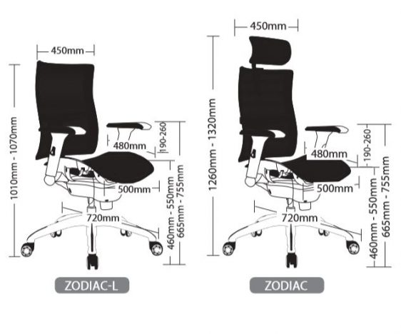 ZODIAC EXECUTIVE SEATING 1